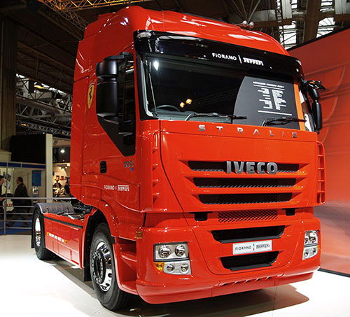 IVECO Stralis with Metton application