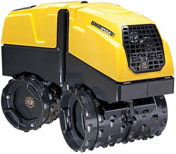Bomag Trench Compactor